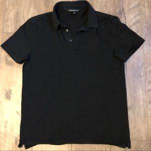 Slim Fit Express Black Polo